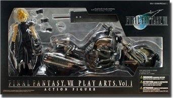 PLAY ARTS プレイアーツ FINAL FANTASY VII ファイナルファンタジー7 クラウド & ハーディ・デイトナ