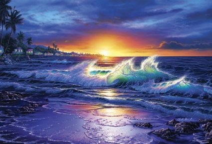 2000ピース ラッセン 輝きの海辺
