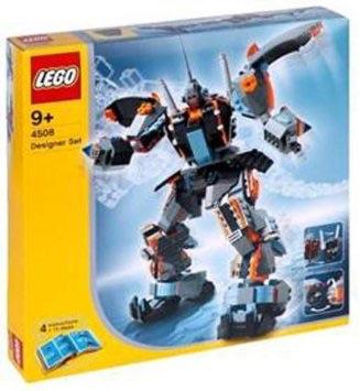 レゴ デザイナーセット  ロボットデザイナーデラックス 4508