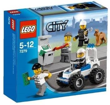 レゴ  7279 シティ ポリス 4WDバギー