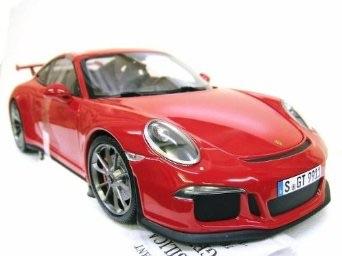 1/18 ミニチャンプス ポルシェ 911 GT3 2013 レッド