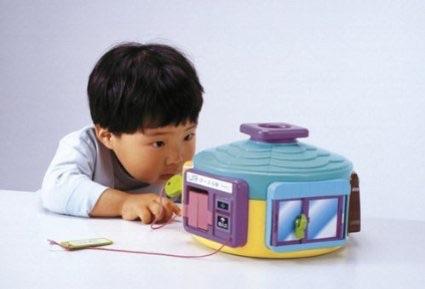 ピープル 2歳の知育 1人で遊べる!? かくれんぼハウス