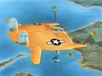1/48 スペシャルホビー 米・ヴォート V-173 試作戦闘機 フライングパンケーキ