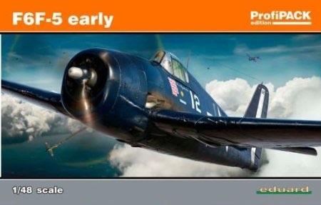 1/48 エデュアルド F6F-5 ヘルキャット 初期型 8225