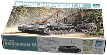 1/35 トランペッター  ドイツ軍 ベルゲパンツァーIV 戦車回収車