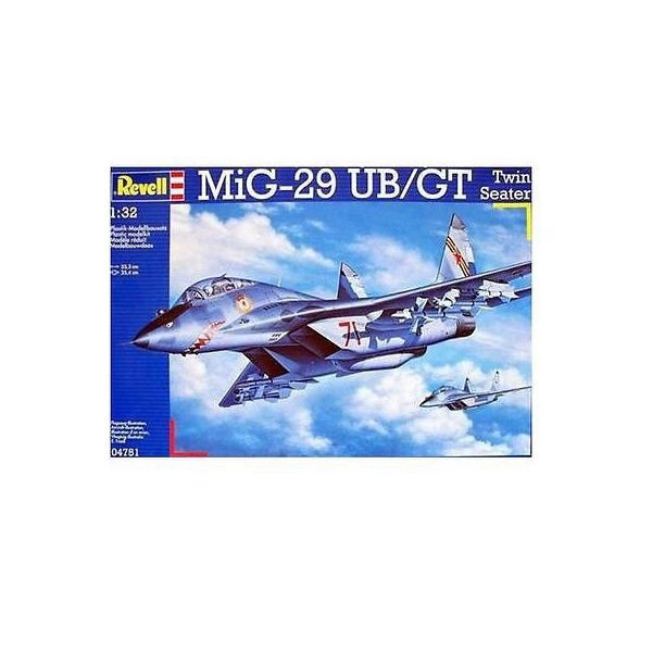 1/32 レベル  Mig-29UB ツインシーター