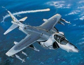 1/32 トランペッター  AV-8B ナイトアタック ハリアー2