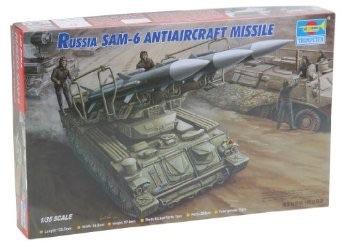 1/35 トランペッター  ソビエト軍 SAM-6 地対空ミサイル ゲインフル