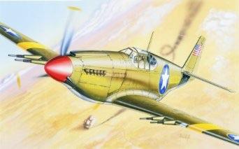 1/72 イタレリ P-51 マスタング レザーバック