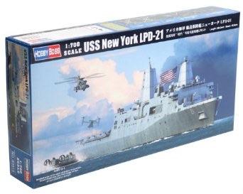 美しい 1/700 ホビーボス 艦船シリーズ アメリカ海軍 輸送揚陸艦ニューヨーク LPD-21, Foothill Gardens 7c3f12b7