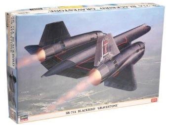 1/72 ハセガワ SR-71A ブラックバード グレイブストーン
