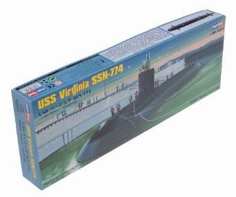1/350 ホビーボス  USS バージニア SSN-774