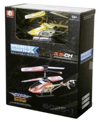 メディアクラフト  mini-X イエロー  ラジコン ヘリコプター