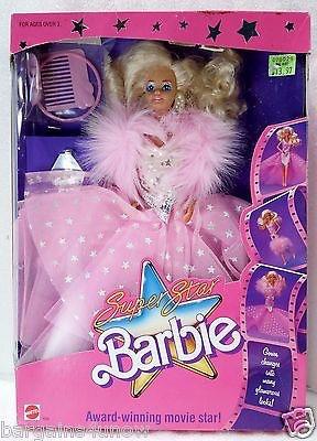 Mattel マテル Barbie バービー  1988 スーパースター