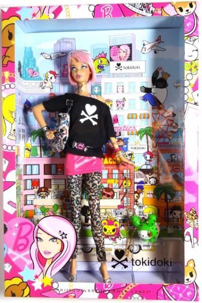 Mattel マテル Barbie バービー ゴールドラベル TOKIDOKI トキドキ コラボ