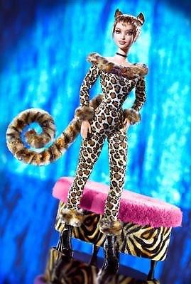 Mattel マテル  Barbie バービー キティズ ラウンジコレクション レオパード