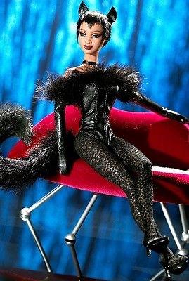 Mattel マテル Barbie バービー  キティズ ラウンジコレクション ブラックパンサー
