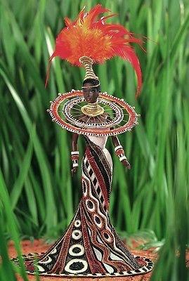 Mattel マテル Barbie バービー  ボブマッキー  ファンタジー ゴッデス オブ アフリカ