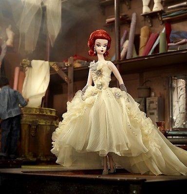 マテル バービー  ゴールドラベル  ファッションモデルコレクション  ガラ ガウン