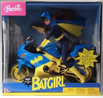 マテル バービー 「バットマン」 バットガール with バットサイクル