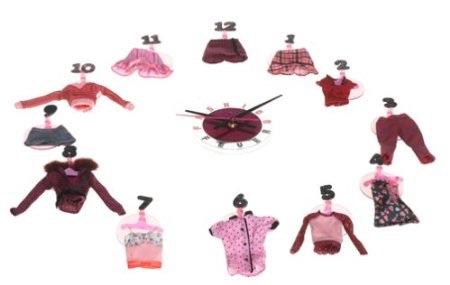 マテル バービー  ファッションフィーバー   クロック 時計