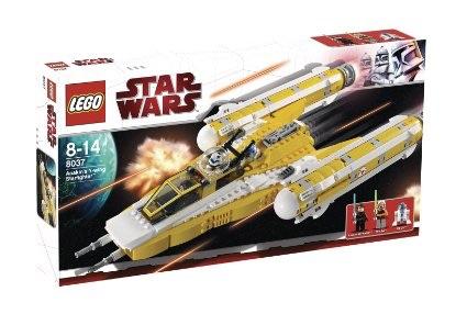 レゴ 8037 スターウォーズ  アナキンのY-ウィング・スターファイター