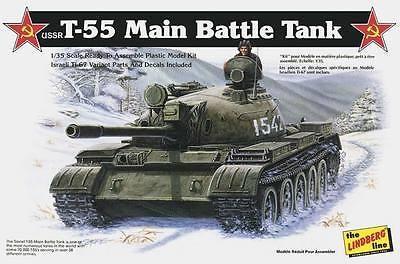 1/35 リンドバーグ T-55  メイン・バトル・タンク