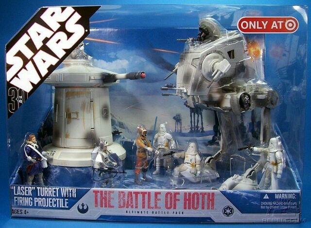 HASBRO ハズブロ スターウォーズ バトルパック Battle of Hoth