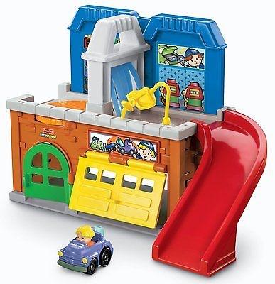 人気新品入荷 Fisher Price Price フィッシャープライス リトルピープル Stow'n Tow Garage Tow Garage ガレージ, アルベルワインショップ:60418e44 --- canoncity.azurewebsites.net