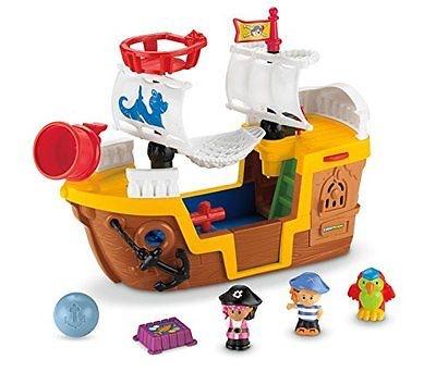Fisher Price フィッシャープライス リトルピープル パイレーツ シップ 海賊船
