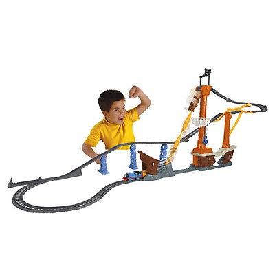 Fisher Price フィッシャープライス トーマス Shipwreck rails set