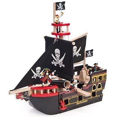 Le toy van バルバロッサの海賊船