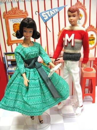 Mattel マテル バービー ゴールドラベル ミッジ&アラン ギフトセット