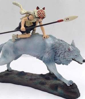 コミニカ メモリアルコレクション スタジオジブリ もののけ姫 犬神 & サン