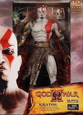 NECA ネカ  ゴッド・オブ・ウォー Kratos クレイトス  トーキングフィギュア