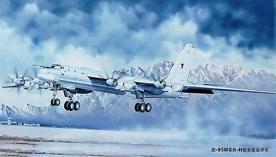 1/72 トランペッター ツポレフ Tu-95MS ベアーH