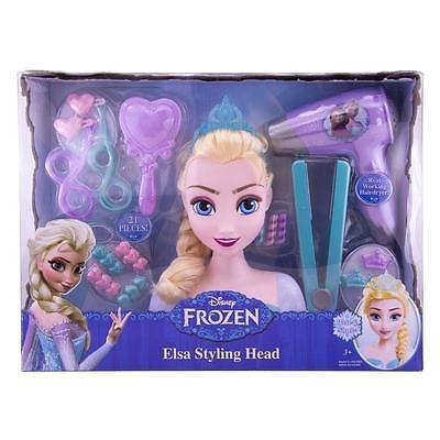 ディズニー アナと雪の女王 エルザ スタイリングヘッド