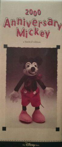 ディズニー 2000 Anniversary Mickey アニバーサリー ミッキー  リミテッドエディション