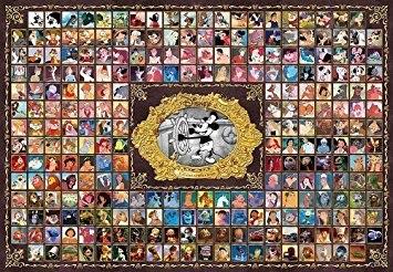 テンヨー ジグソーパズル 1000ピース ディズニー ディズニー&ピクサー キャラクターコレクション