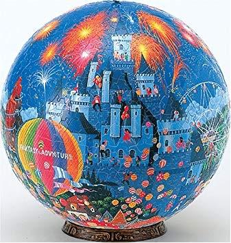 やのまん ジグソーパズル 960ピース 3D球体パズル ケイ・マスダ FANTASY LAND ファンタジーランド