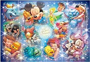 テンヨー ジグソーパズル 2000ピース  ぎゅっとサイズシリーズ  ディズニー  アート集 ベストフレンド