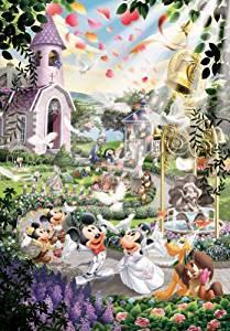 テンヨー ジグソーパズル 2000ピース  ディズニー  ウエディングベルにのせて    結婚式
