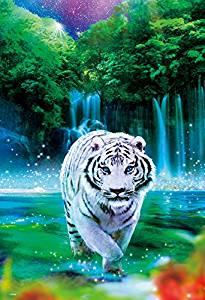 ビバリー ジグソーパズル 1000ピース  ウィルファー  ノーブルタイガー   白虎 ホワイトタイガー