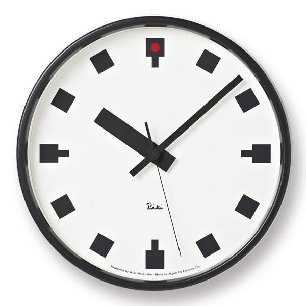 掛け時計【 送料無料】【Lemnos レムノス】日比谷の時計 WR12-04 掛け時計 Riki 壁掛け 壁掛け時計 掛時計 時計 おしゃれ 渡辺力 人気 デザイン インテリア 北欧 クロック  305252