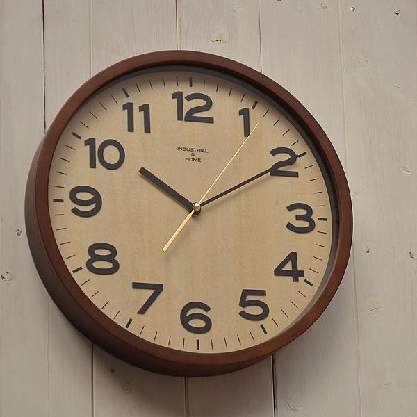 掛け時計 電波時計 電波時計 【 送料無料】DARYL ダリル INTERFORM インターフォルム CL-7973 掛時計 掛け時計 電波 木目 壁掛け 壁掛け時計 時計 おしゃれ 人気 デザイン インテリア レトロ ナチュラル クロック 305252