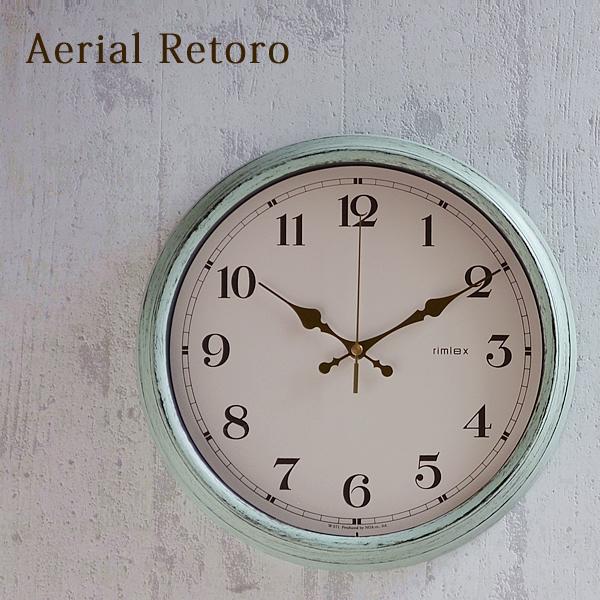 ポイント10倍 送料無料 掛け時計 Aerial Retoro エアリアル 着後レビューで レトロ W-571 掛時計 電波時計 子供部屋 電波 北欧 壁掛け時計 値下げ おしゃれ 時計 かわいい 子供 壁掛け