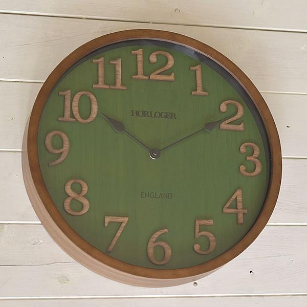 掛け時計 電波時計 ENGLAND イングランド 北欧 おしゃれ 時計 壁掛け 電波