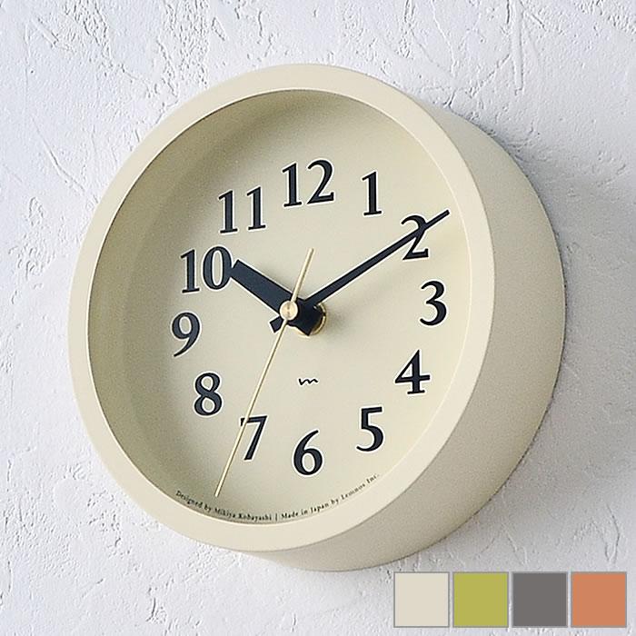 在庫一掃 見やすい文字盤に真鍮色の秒針がアクセントの置き掛け兼用電波時計です 小さいながらも存在感のある時計で インテリアによく馴染みます タカタレムノス lemnos 電波時計 エム 期間限定今なら送料無料 クロック m clock MK14-04 掛け時計 置き時計 シンプル 北欧 レムノス おしゃれ 時計 置き掛け兼用時計 壁掛け 日本製 ギフト かわいい 置時計 プレゼント アイボリー ピンク グレー グリーン