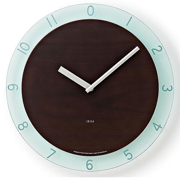 掛け時計【 送料無料】【Lemnos レムノス】SESSA セッサ SC-5000 掛け時計 アクリル 壁掛け 壁掛け時計 掛時計 時計 おしゃれ かわいい 人気 デザイン インテリア 北欧 クロック  305252