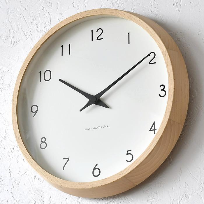 レビュー特典付 何度見ても飽きない完成されたフォルムが魅力のレムノスの電波式の掛け時計 タカタレムノス 掛け時計 電波時計 Lemnos レムノス Campagne 高品質新品 カンパーニュ PC10-24W 北欧 海外並行輸入正規品 おしゃれ かわいい 壁掛け時計 リビング 時計 壁掛け 寝室 子供部屋 人気 木製 キッチン 子供 音がしない 日本製 電波
